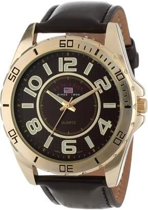 U.S. Polo Assn. Men's Dial Strap Watch US5160