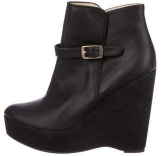 Stella McCartney Vegan Wedge Booties