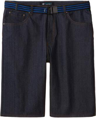 Enyce Men's Big-Tall High Road Belted Jean Short