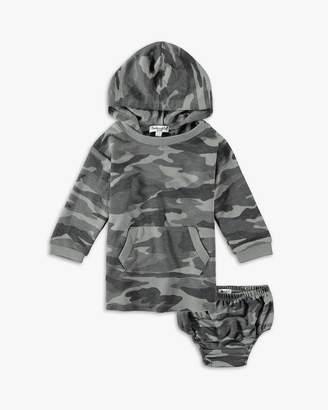 Splendid Baby Girl Camo Dress with Hood