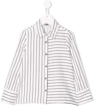 Karl Lagerfeld Paris pinstripe shirt