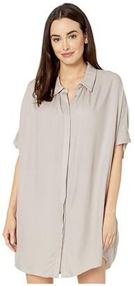 American Rose June Button-Up Shirtdress