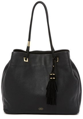 Vince Camuto Cava Leather Tote $278 thestylecure.com