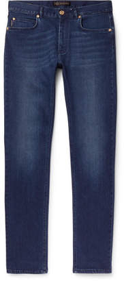 Versace Slim-Fit Stretch-Denim Jeans