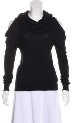 MICHAEL Michael Kors Cutout Cowl Neck Sweater