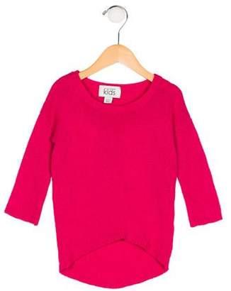 Autumn Cashmere Girls' Wool & Cashmere Sweater