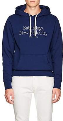 Saturdays NYC Men's Ditch Miller Cotton Terry Hoodie