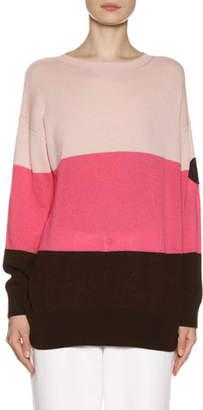 Moncler Cashmere Colorblock Sweater