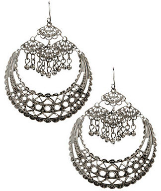 Exotic Crescent Earrings