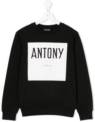 Antony Morato Junior front logo sweatshirt