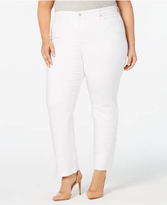 Charter Club Plus Size Tummy Control Jeans, Created for Macy's