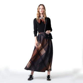MACKINTOSH LONDON ウィメン メガチェックジャカードスカート