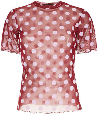 G.V.G.V. polka dot short sleeved top