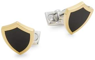 Effy Men's Black Agate and Sterling Silver Cufflinks