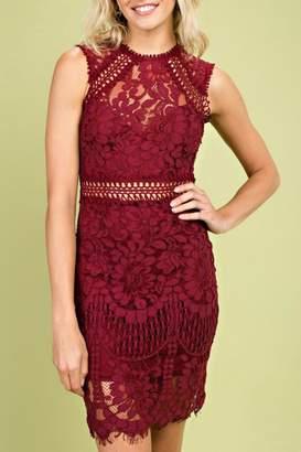 Pretty Little Things Crochet Lace Dress