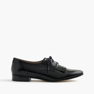 Leather oxfords with fringe $228 thestylecure.com