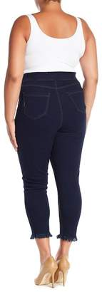 Hue High Waist Front Lace-Up Jeggings (Plus Size)