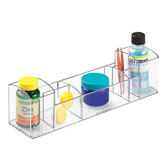 InterDesign Med+ Bathroom Medicine Cabinet Organizer for Electric Toothbrush