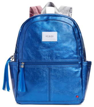 STATE Bags Kane Metallic Backpack