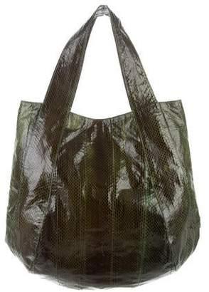 Beirn Large Python Shoulder bag