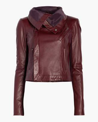 Veda Max Smooth Leather Jacket