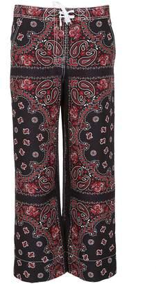 Alexander Wang Bandana Printed Trousers