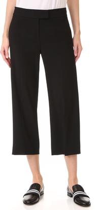 DKNY Wide Leg Crop Pants $198 thestylecure.com