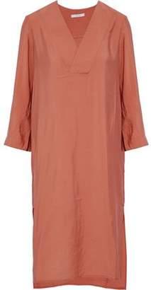 Dagmar House Of Candice Crinkled-Poplin Dress