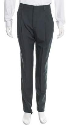 Lanvin Flat Front Wool Pants w/ Tags