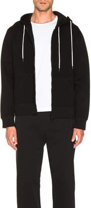 Craig Green Laced Zip Up Hoodie in Black | FWRD