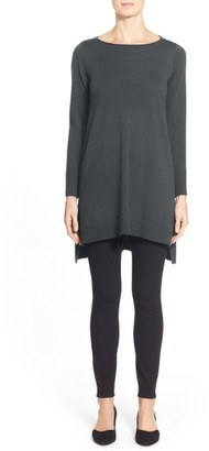 Women's Eileen Fisher Merino Jersey Tunic $248 thestylecure.com