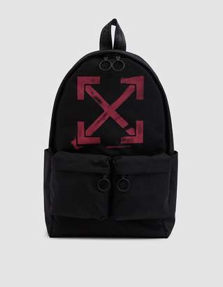 Off-White Off White Arrows Canvas Backpack