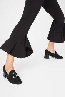 Intermix JAGGAR THE LABEL LOAFER HEEL black