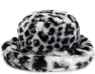 Alberta Ferretti leopard print hat