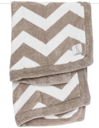 Little Giraffe Flax Chevron Blanket