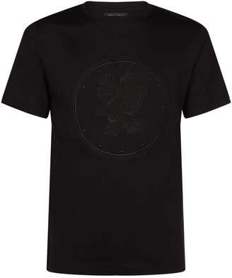 Stefano Ricci Embroidered Eagle T-Shirt