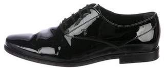 Tod's Patent Leather Oxfords