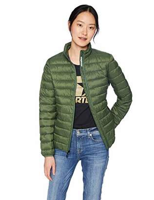 Starter Women's Water Resistant Light Packable Puffer Jacket