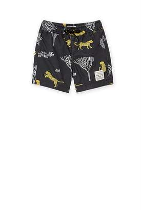 Country Road Leopard Board Short