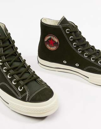 f956c1cd6c96 Converse Chuck Taylor All Star  70 Hi Sneakers In green 162371C