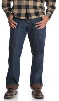 Wrangler Men's Fleece Lined Carpenter Jean