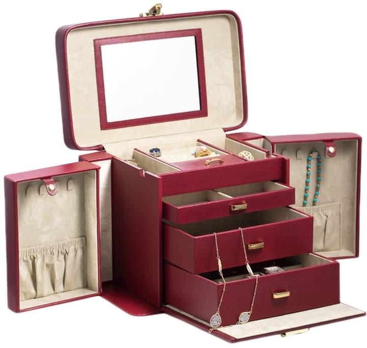 Lizard 4-Level Jewelry Box