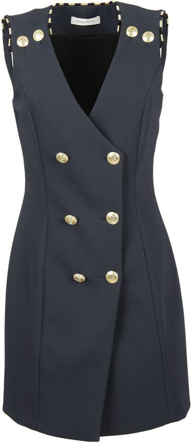 BalmainPierre Balmain Sleeveless Coat