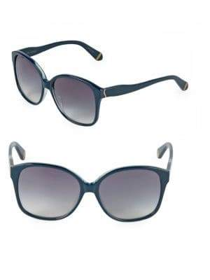 Zac Posen Anita 58MM Square Sunglasses