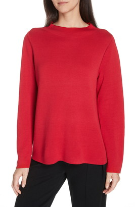 Eileen Fisher Reversible Silk Blend Sweater