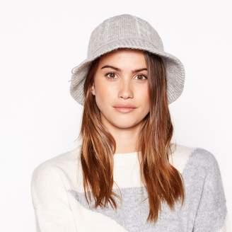 Principles - Light Grey Wool Cloche Hat