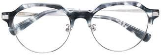 MCM marble wayfarer glasses