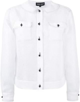Giorgio Armani button-up longsleeve shirt