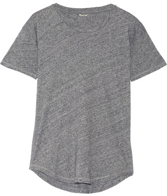Madewell - Whisper Cotton-jersey T-shirt - Gray $30 thestylecure.com