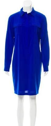 Calvin Klein Long Sleeve Knee-Length Dress